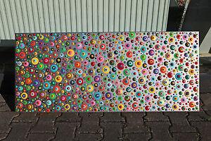 abstrakte-Acryl-XXL-Bilder-Wandelement-moderne-Gemaelde-Handgemalt-Neu