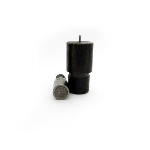 Setting fixing tool dies for single double cap rivets for hand press machine