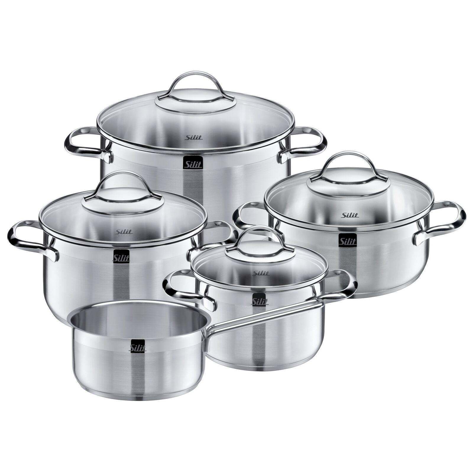 Silit Ustensiles de Cuisine-Set 5 Pièces Agate inox inoxydable neuf