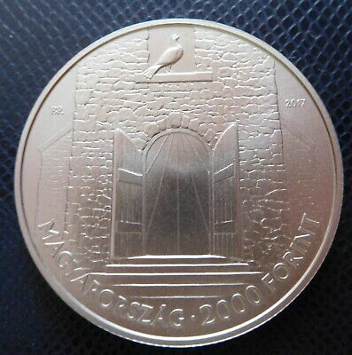 Hungary 2000 forint 2017 Austro-Hungarian Compromise of 1867 BU 52,5 mm 76,5 g !