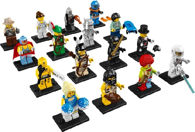 LEGO MINIFIGURES - SERIES 1 - 8683 - SELECT YOUR FIGURE - NEW