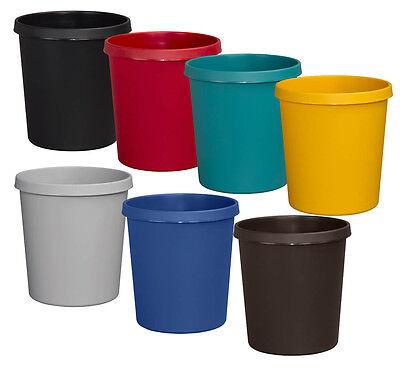 Methodisch Papierkorb Mülleimer 18 Liter Verschiedene Farben Blitzversand Kleinmöbel & Accessoires