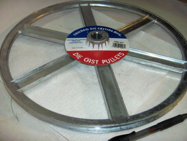 """2.5/"""" 5//8/"""" Bore 3X901     New in Box Congress Drives Pulley 3A  2-1//2/"""""""