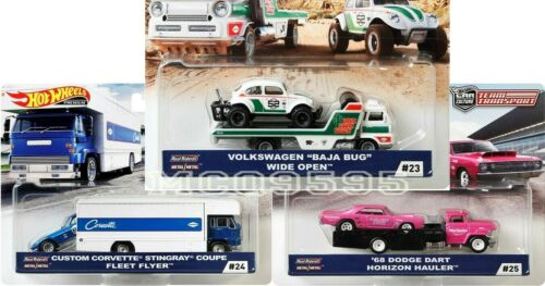 HOT WHEELS 2020 CAR CULTURE TEAM TRANSPORT CASE J CORVETTE VW DODGE PRE-ORDER