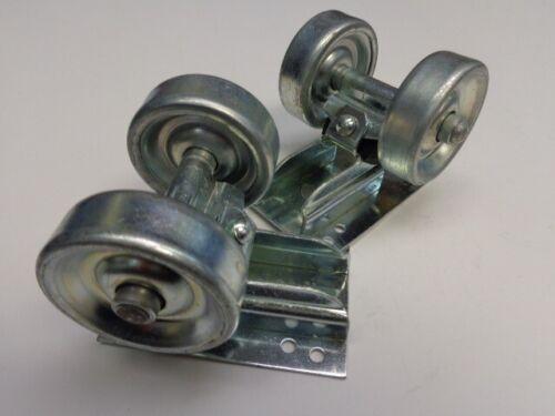 Set of Two 50s 60s Vintage NOS Dead Stock Skateboard Steel Wheels /& Trucks Mint