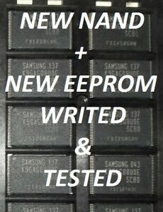 Details about New nand k9gag08u0e + eeprom tested with ue32d5500 ue37d5500  ue40d5500 ue46d5500