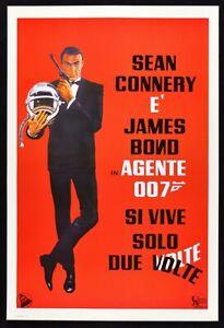 Werbeplakat-007-Ja-Leben-Solo-Zwei-Mal-James-Bond-Sean-Connery-Kino-Film-Spy-P01