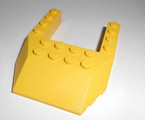 Lego Schräg-//Keilstein 6x8x1 in gelb aus 7248 9371 9474 32084