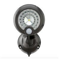 Wireless Bronze Motion Sensor Outdoor Integrated Led Security Spot Light Fixture