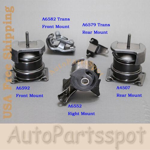 Engine & Trans Mount 5PCS