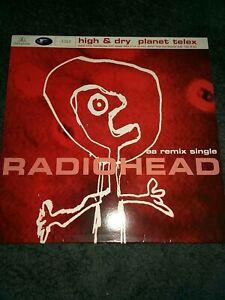 Radiohead - planet telex, high & dry aa remix single 12