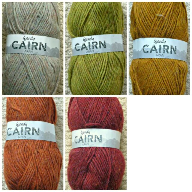 Wendy Cairn ARAN Knitting Acrylic Yarn 3283 Mistral Nylon 100g