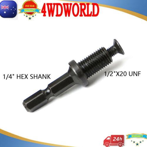 DRILL CHUCK 1//2 Hex ADAPTER /& SCREW For AEG MILWAUKEE GMC METABO Impact Driver