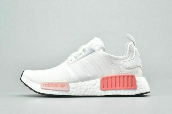 Size 4 - adidas NMD R1 White Rose 2017 for sale online   eBay