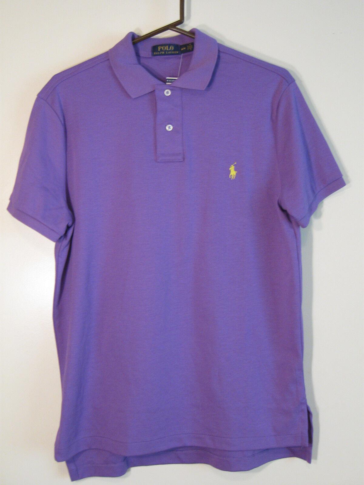 POLO Ralph Lauren Mens 2 Button Shirt NWT M Short Sleeves 100% Cotton
