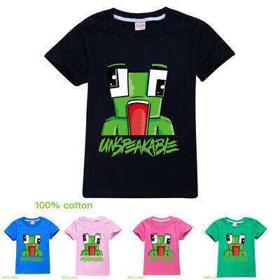 Korea BTS Children Youth T-shirt Tops Kids Short Sleeve Summer Tops For Age 3-14