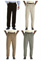 Men's pants Big & Tall Oak Hill  stretch waist relaxer wrinkle free NWT $60