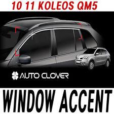 Top Window Accent Line Trim 4p 1set For 06 07 08 09 10 11 Chevy Captiva