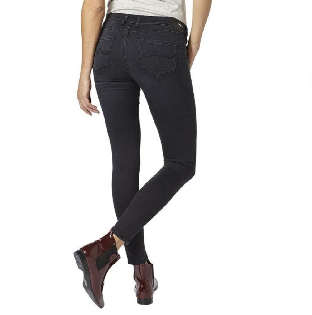 PEPE Jeans Lola jeans jeans jeans da donna Nero ec7c9a