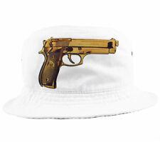 Oro Beretta sombrero del cubo muy raro Snapback 5 Panel A $AP ak-47 Nuevo