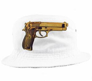 3df91de5db7 Gold Beretta Bucket Hat very rare snapback 5 panel a ap ak-47 NEW