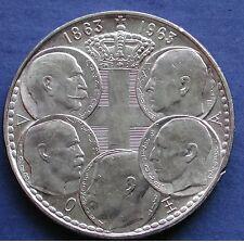 MONETA COIN MONNAIE GREECE GRECIA KING 30 DRACHMA 1863/1963 - ΕΛΛΆΔΑ - ARGENTO 2