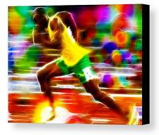 Framed Magical Usain Bolt Olympics 9X11 Art Print Limited Edition w/signed COA