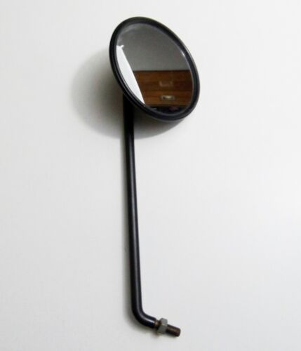 Universal Spiegel rechts schwarz matt Mirror back right  Mokick Mofa Moped