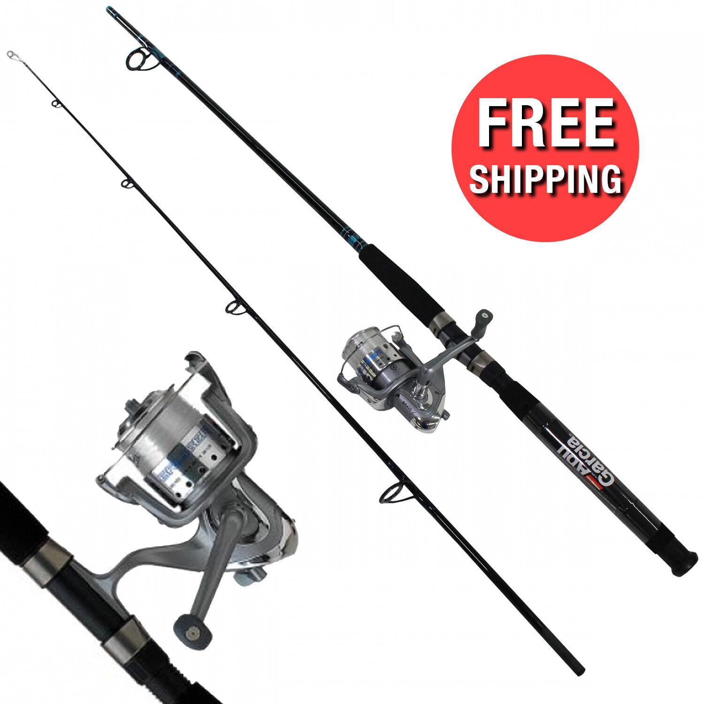 Okuma Fishing Rod Reel Tundra Combo Saltwater Surf Pier River Catfish 8 M For Sale Online Ebay