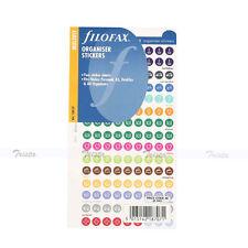 Filofax Personal/A5/A4 Size Organiser Stickers NotePaper Refill Insert -130137