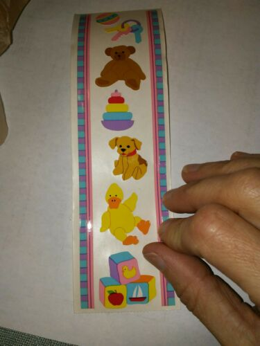 MRS GROSSMAN/'S BABY TOYS STICKERS 2000 RETIRED VINTAGE A2271