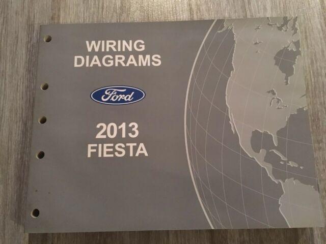 2013 Ford Fiesta Wiring Diagram Service Shop Repair Manual