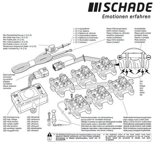 K/&K M4700B Marderabwehrgerät Ultraschall Hochspannung Kombinationsgerät Marder