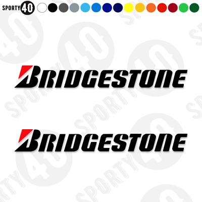 Los neumáticos Bridgestone-Calcomanías de Vinilo//Pegatinas Moto Coche Racing 2613-0219