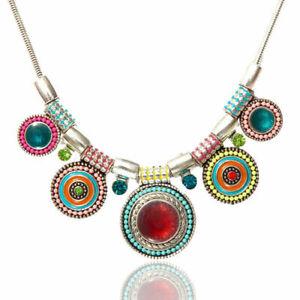 Necklace-Jewelry-Charm-Fashion-Pendant-Choker-Chain-Statement-Chunky-Bib-Crystal