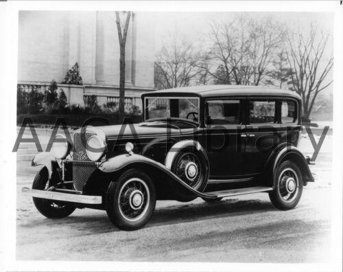 Factory Photo 1931 Peerless Master Eight Deluxe Sedan Ref. #63742 Picture
