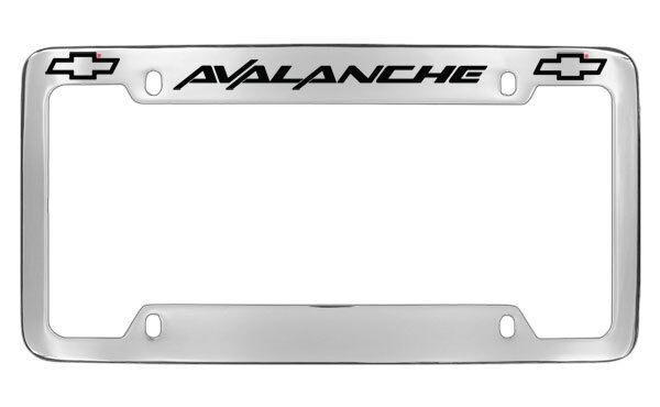 Chevrolet Chevy Avalanche License Plate Frame Holder   eBay