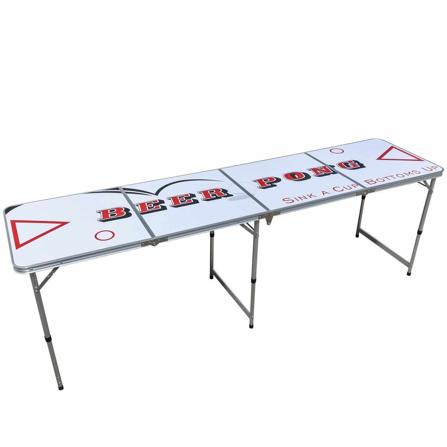 Beer Pong Table, Beer Party Game, Fußball Weltmeisterschaft, Camping Tisch