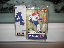 MCFARLANE NHL LEGENDS 3 JEAN BELIVEAU RARE WHITE JERSEY CHASE VARIANT CANADIENS