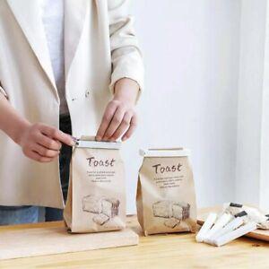 1//5//10pcs Durable Kitchen Storage Food Snack Sealing Plastic Bag Clips Clam L0Z1