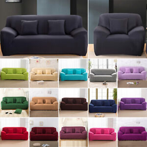 Pleasing Details Over 1 2 3 4 Seater Stretch Sofa Covers Protector Couch Cover Slipcover 18 Colors Ocoug Best Dining Table And Chair Ideas Images Ocougorg