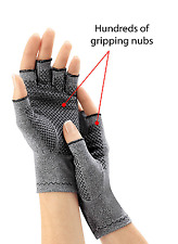 Arthritis Gloves Compression MEN Grips Blood Circulation Cotton Lycra Breath
