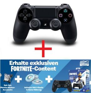 Original-Sony-Controller-f-PlayStation-PS-4-FORTNITE-in-Game-Produkte-NEU-OVP