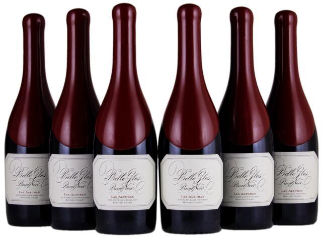 Belle Glos Pinot Noir 2016 Las Alturas Vineyard **LOT OF 6 BOTTLES**