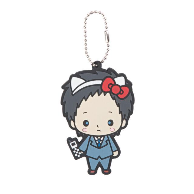 5b0ce3e0b759 Hello Kitty X Durarara Mikado Ryuugamine CHIBI Character Keychain ...