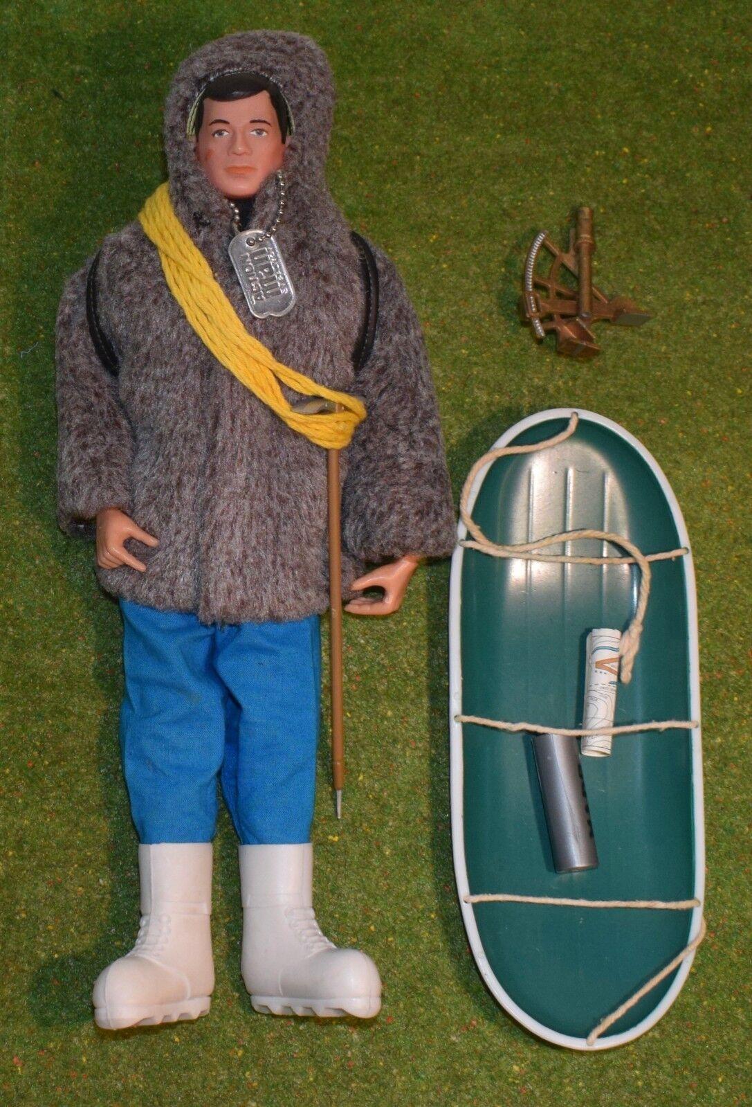 PRIORIGINAL årgång MAN LOOSE POLAR EXPLORER w  TILLHANDAHÅLLANDE SLEDGE   SEXTON - 012