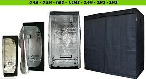 Indoor-Portable-Grow-Tent-Green-Room-Silver-Mylar-Lined-Hydroponics-Carbon