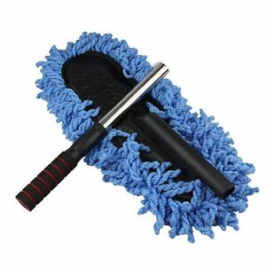 1xnew car cleaning wash brush dusting tool large microfiber telescoping duster ebay. Black Bedroom Furniture Sets. Home Design Ideas