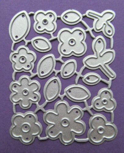 NUOVO 18 Pezzi Mini Fiori /& Foglie Metal Craft taglio Die-GRATIS P/&P