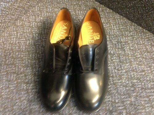 Gibsons Black Ladies Polished Leather 4 Size qRxqAYp6